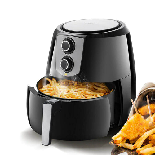 Spector 1800W 7L Air Fryer Healthy Cooker Low Fat Oil Free Kitchen Oven in Black