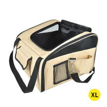 Load image into Gallery viewer, PaWz Pet Car Booster Seat Basket Puppy Cat Dog Carrier Travel Protector Safe XL