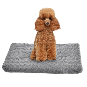 Pet Bed Dog Beds Bedding Soft Warm Mattress Cushion Pillow Mat Velvet S