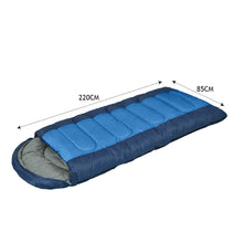 Load image into Gallery viewer, Mountview -20°C Outdoor Camping Thermal Sleeping Bag Envelope Tent Hiking Winter