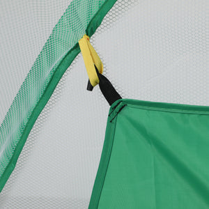 2M Golf Practice Net Hitting Nets Driving Netting Chipping Cage Training Aid Green