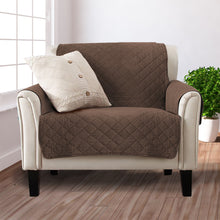 Load image into Gallery viewer, 1 Seater Sofa Covers Quilted Couch Lounge Protectors Slipcovers Coffee