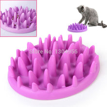 Load image into Gallery viewer, 1piece Cat Interactive Slow Feeder Catch Bowl Non Slip Anti Gulping Kitten Food Dish Dog Pets Feed Toys 26*22*7.2cm Y0081