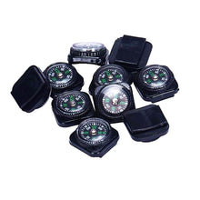 Load image into Gallery viewer, 10pcs/lot Belt Buckle Mini Compass for Paracord Outdoor Camping Hiking Travel Emergency Survival Navigation Tool Compass#XTJ