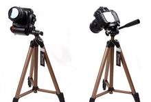 Load image into Gallery viewer, Weifeng WT3130 Protable Lightweight Aluminum Camera Tripod with Rocker Arm Carry Bag for Canon Nikon Sony DSLR Camera Camcorder