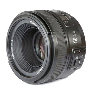 Yongnuo 50mm F1.8 Lens for Nikon DSLR Camera Yongnuo Large Aperture Auto Focus Lens as AF-S 50mm 1.8G