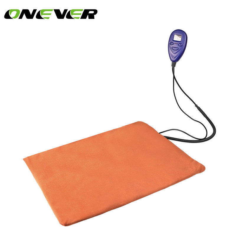 Onever Pet Heating Pad Pet Dog Cat Waterproof Electric Pad Heater Warmer Mat Bed Blanket Heating Pad USPlug