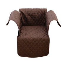 Load image into Gallery viewer, Comfortable Sofa Slipcover Waterproof Pets Dog Cat Sofa Chair Cover Furniture Protector 153x180cm(Coffee)