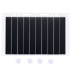 Solar Panel Power Bank Portable Outdoor Hiking External Battery Charger