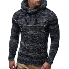 Load image into Gallery viewer, Men's Autumn Winter Pullover Knitted Cardigan Coat Hooded Sweater Jacket Outwear