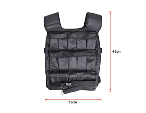 30Kg Adjustable Weighted Training Vest