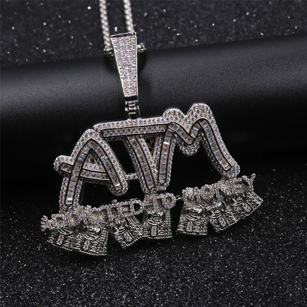 Micropaved ATM Addicted To Money Pendant ,  , Green Box Jewellers - Custom Diamond Pendant - Diamond Jewelry - Custom Diamond Jewelry - Diamond Iced Out Hip Hop Jewelry