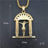 24K Custom Iced Out Jesus on The Altar Pendant ,  , Green Box Jewellers - Custom Diamond Pendant - Diamond Jewelry - Custom Diamond Jewelry - Diamond Iced Out Hip Hop Jewelry