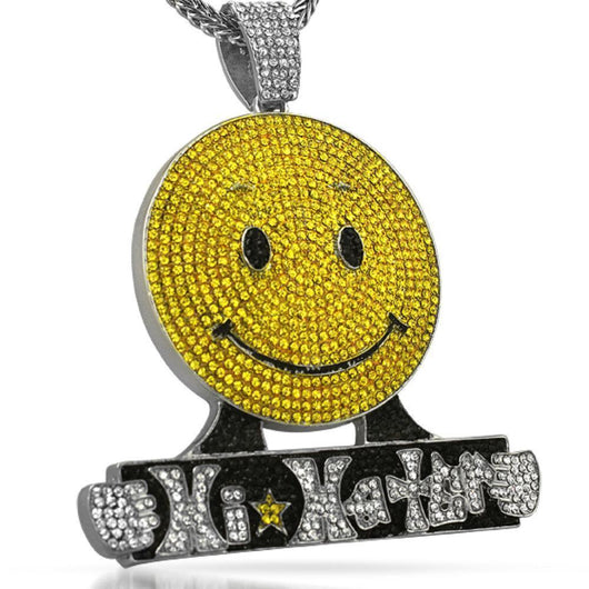 Hi Haters Custom Hip Hop Bling Pendant ,  , Green Box Jewellers - Custom Diamond Pendant - Diamond Jewelry - Custom Diamond Jewelry - Diamond Iced Out Hip Hop Jewelry