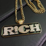 R!CH Boyz ,  , Green Box Jewellers - Custom Diamond Pendant - Diamond Jewelry - Custom Diamond Jewelry - Diamond Iced Out Hip Hop Jewelry