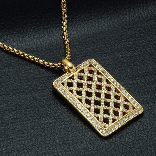 Iced Grate Square ,  , Green Box Jewellers - Custom Diamond Pendant - Diamond Jewelry - Custom Diamond Jewelry - Diamond Iced Out Hip Hop Jewelry