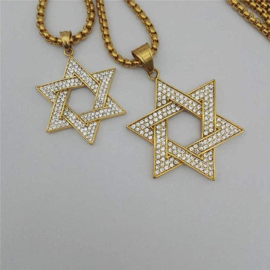 Star Of David Pendant ,  , Green Box Jewellers - Custom Diamond Pendant - Diamond Jewelry - Custom Diamond Jewelry - Diamond Iced Out Hip Hop Jewelry