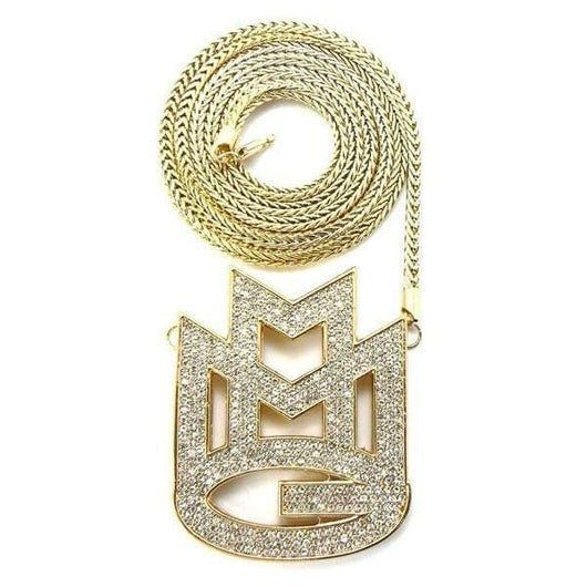 MAYBACH Music Group MMG Pendant ,  , Green Box Jewellers - Custom Diamond Pendant - Diamond Jewelry - Custom Diamond Jewelry - Diamond Iced Out Hip Hop Jewelry