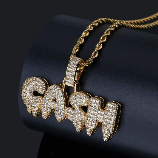 Cash Pendant ,  , Green Box Jewellers - Custom Diamond Pendant - Diamond Jewelry - Custom Diamond Jewelry - Diamond Iced Out Hip Hop Jewelry