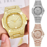 ICED OUT Micro-Pave Watch - Green Box Jewellers