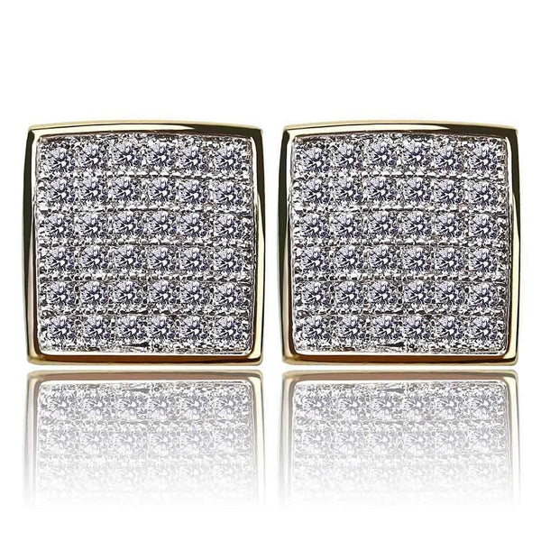 AAA Stud Earrings - Green Box Jewellers