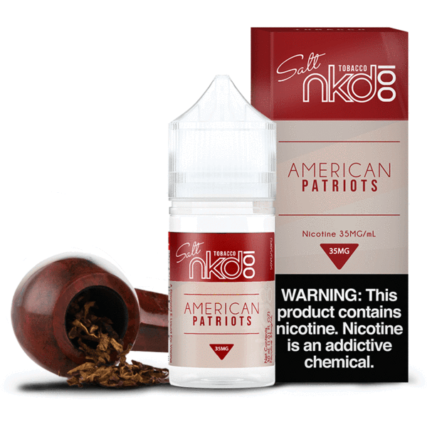 American Patriots by Naked 100 Salt Nicotine eJuice