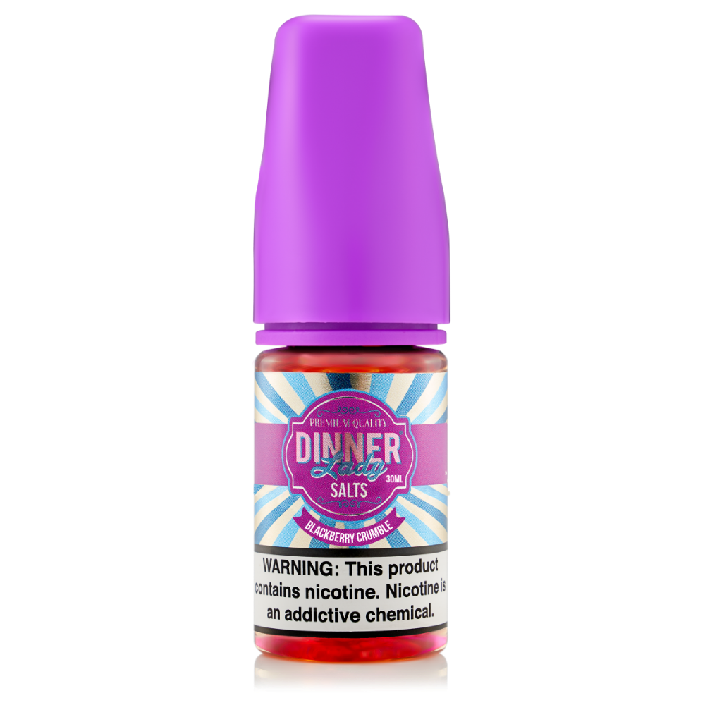 Blackberry Crumble by Vape Dinner Lady E-Liquid