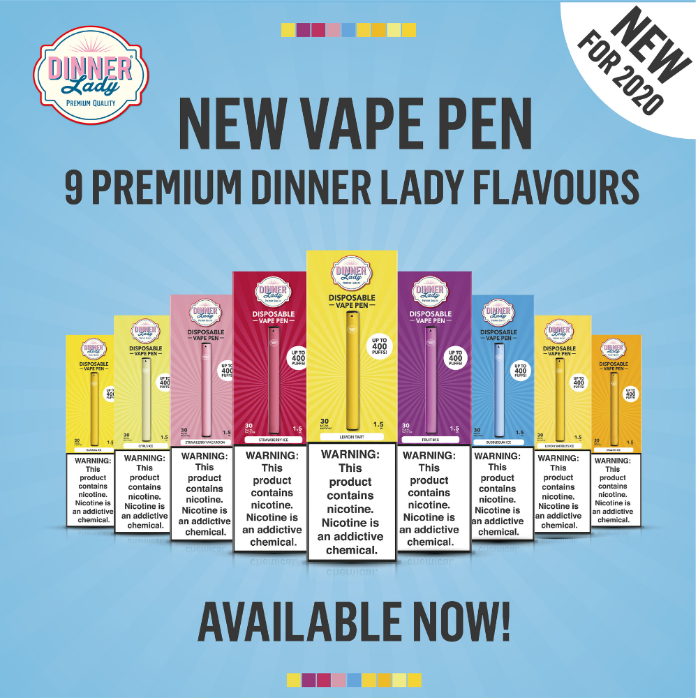 Try the new Dinner Lady Vape Pen Disposable pod vape device at podlyfe.