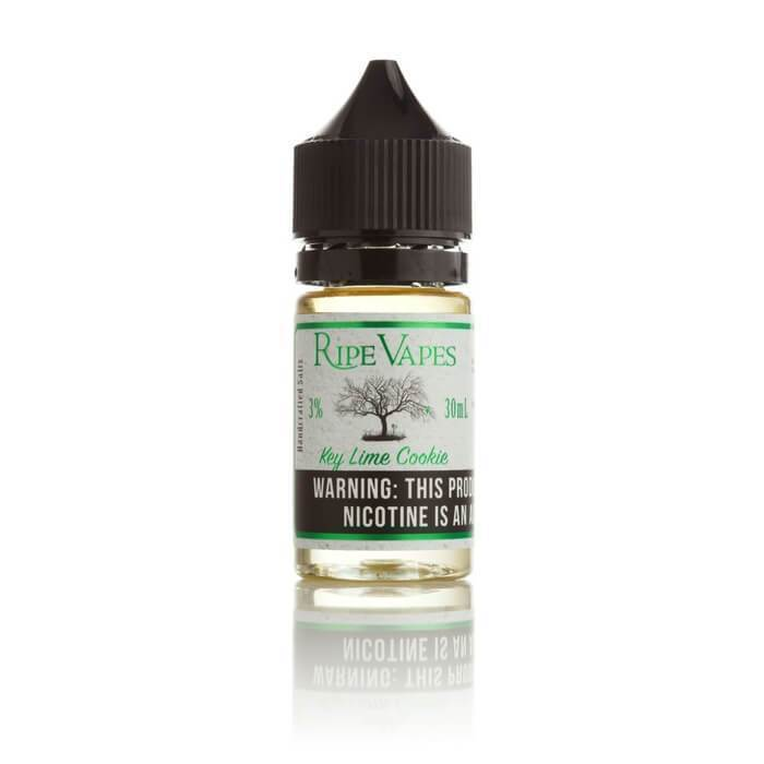 Key Lime Cookie Nicotine Salt by Ripe Vapes Saltz