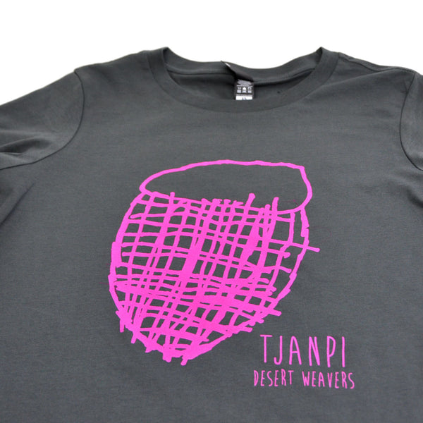 Tjanpi T-Shirt in Charcoal