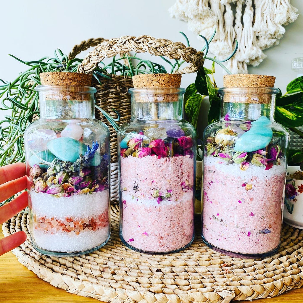 Crystal Infused Bath Salts