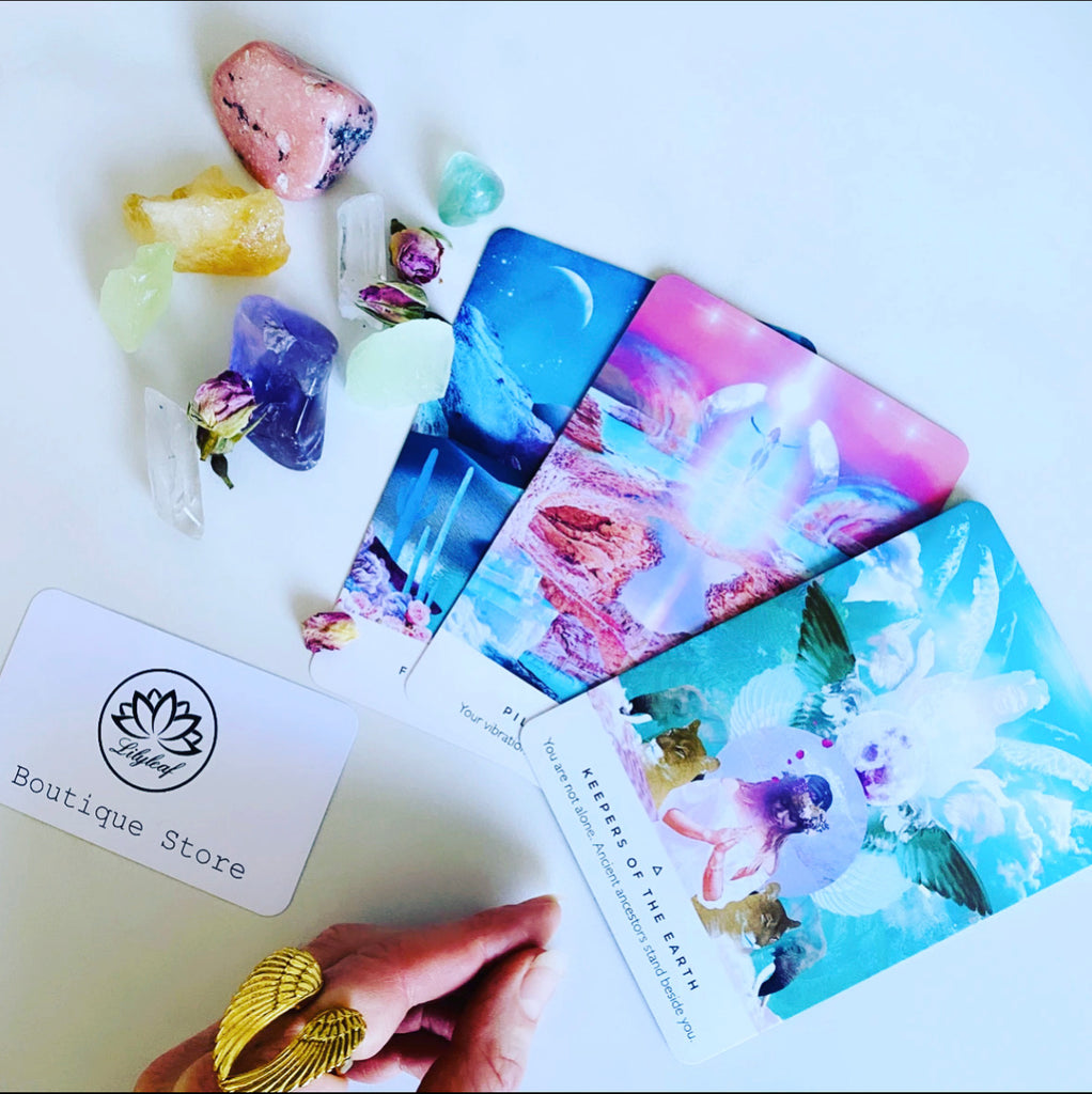 Personalised Card Reading from Lilyleaf