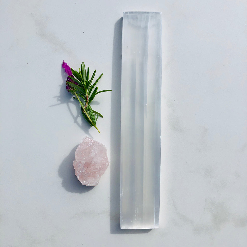 Selenite Slab