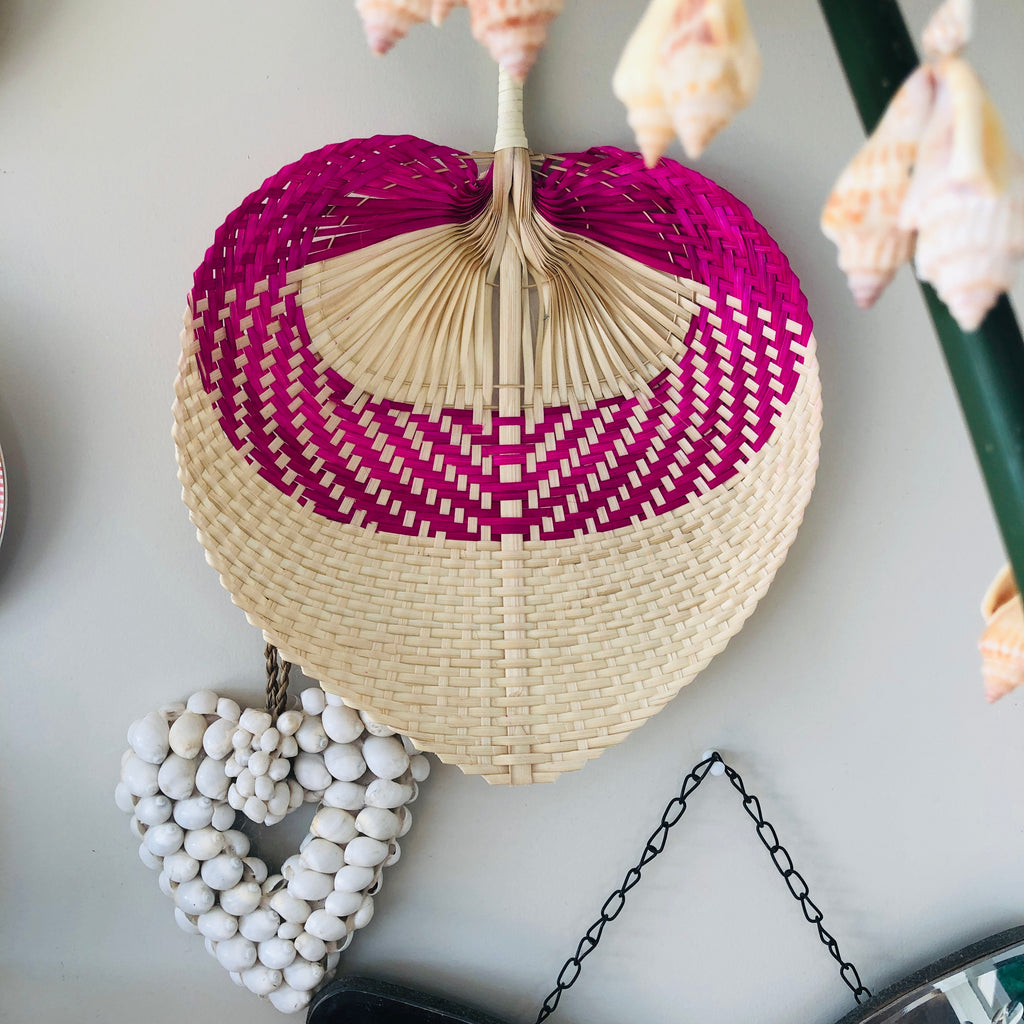 Boho Fan x Wall display