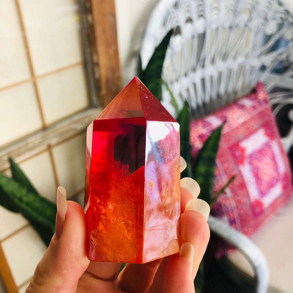 Angel Aura x Red x Extra gold infusen
