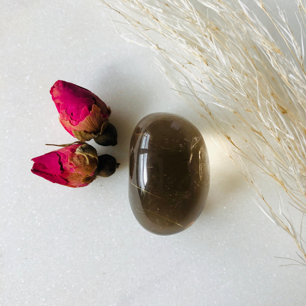 Smoky Quartz Tumbler