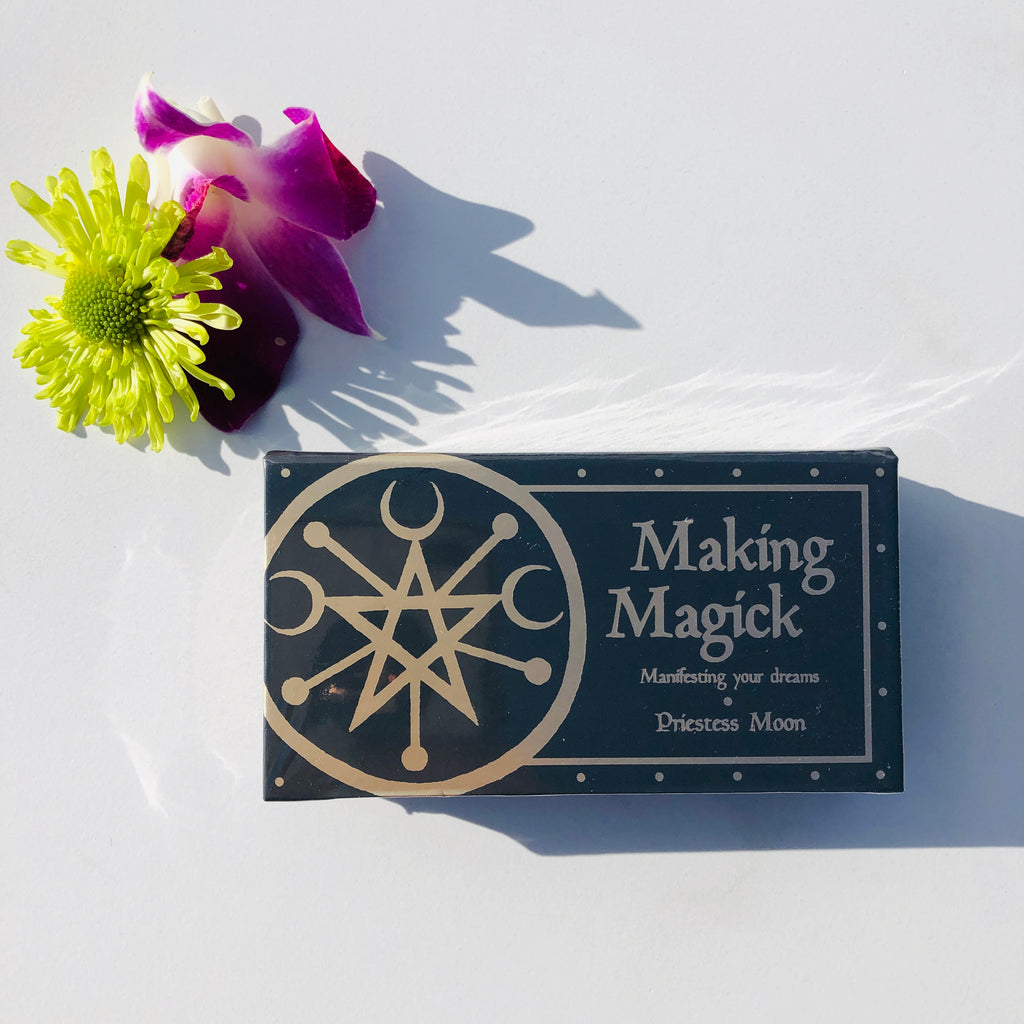Cards x Making Magick mini affirmation cards