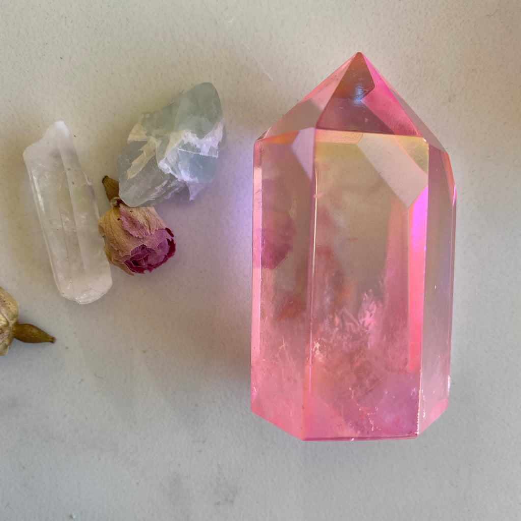 Angel Aura X Pink X Quartz