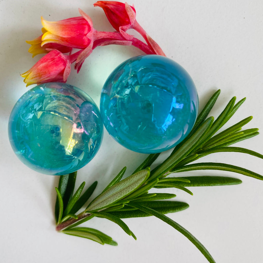 Angel Aura sphere x Blue