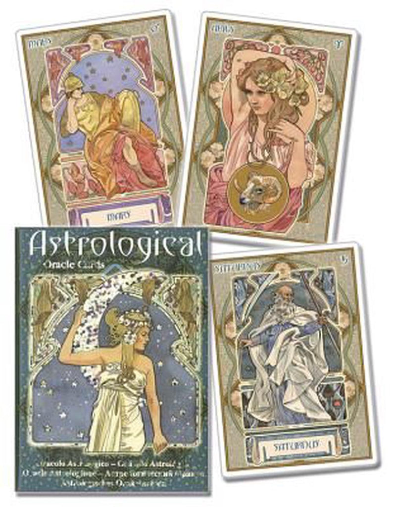 Cards x Astrological Oracle Cards
