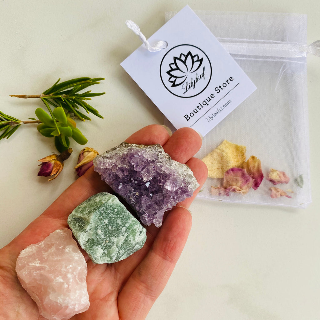 Crystal Starter Kit for kids or big adults X Little Leaf