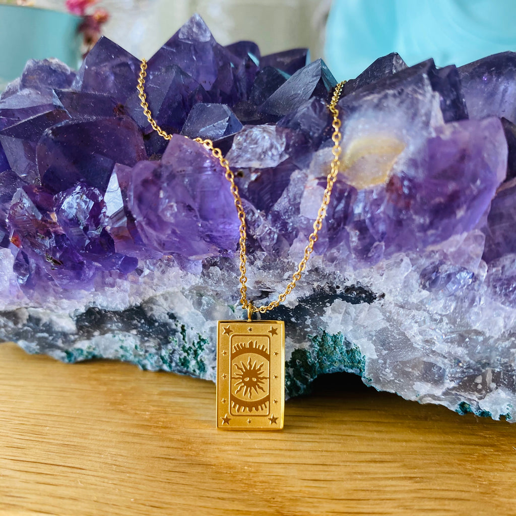 Tarot Necklace x 18 Karat Gold Plated