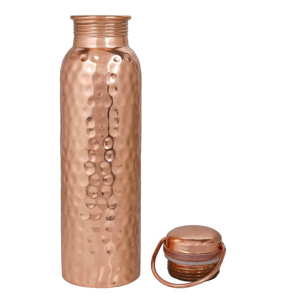 Copper Water Bottle X Ayurvedic