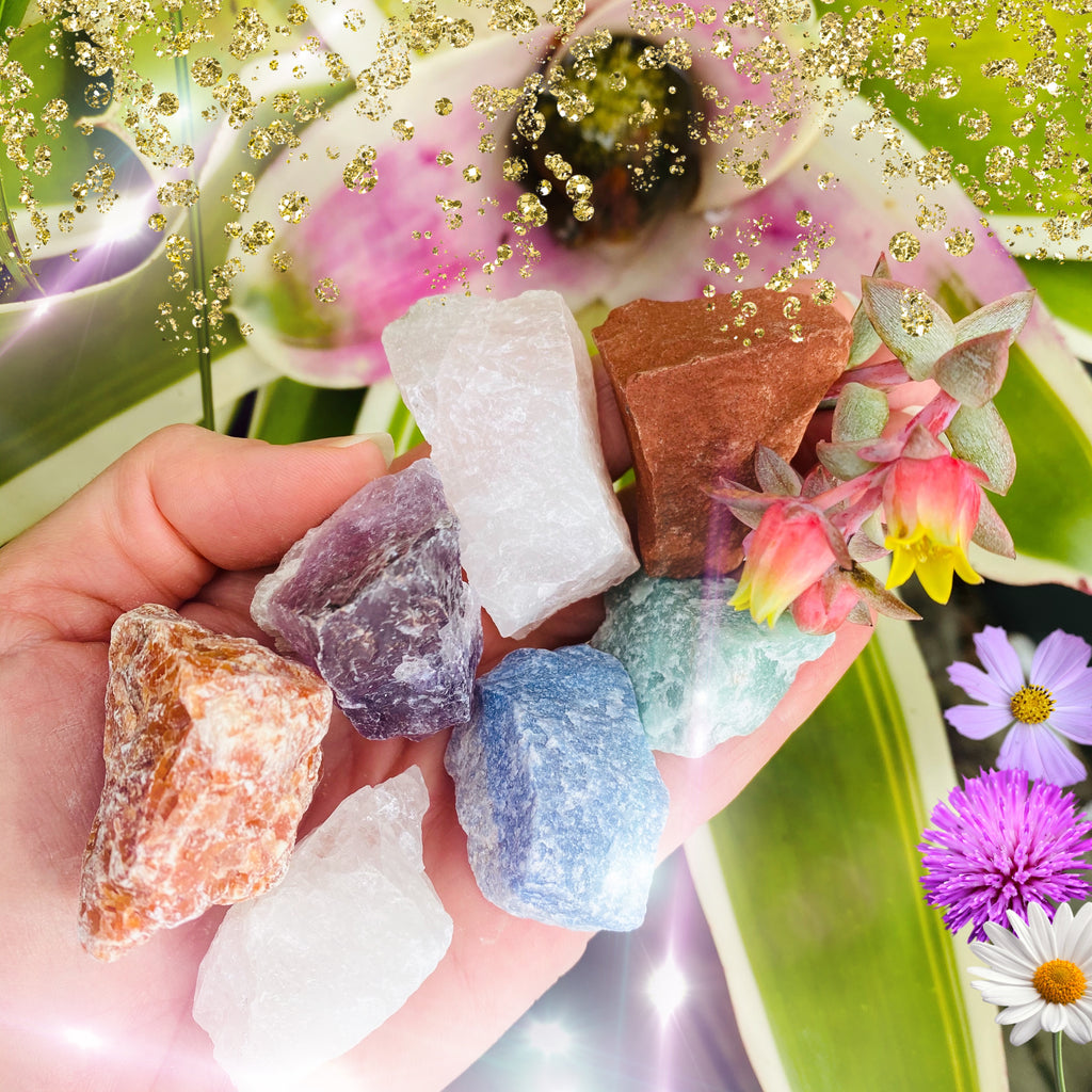 Crystal Healing Set