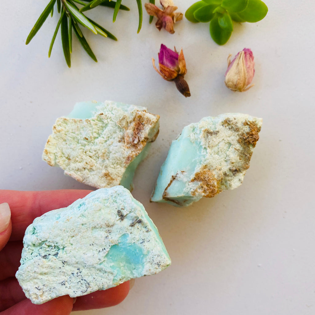 Chrysoprase X Raw