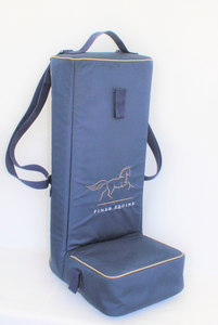 Luxury equestrian riding boot bag