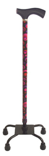 Engraved Ruby Walking Stick
