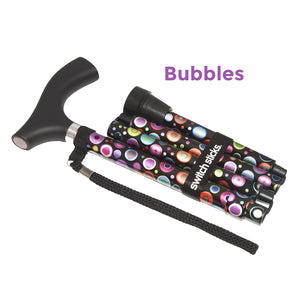 Bubbles Walking Stick