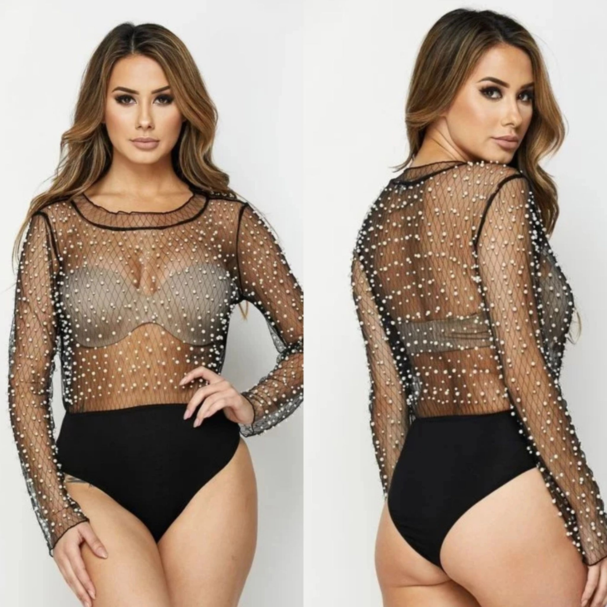 Shari Pearl Body Suit