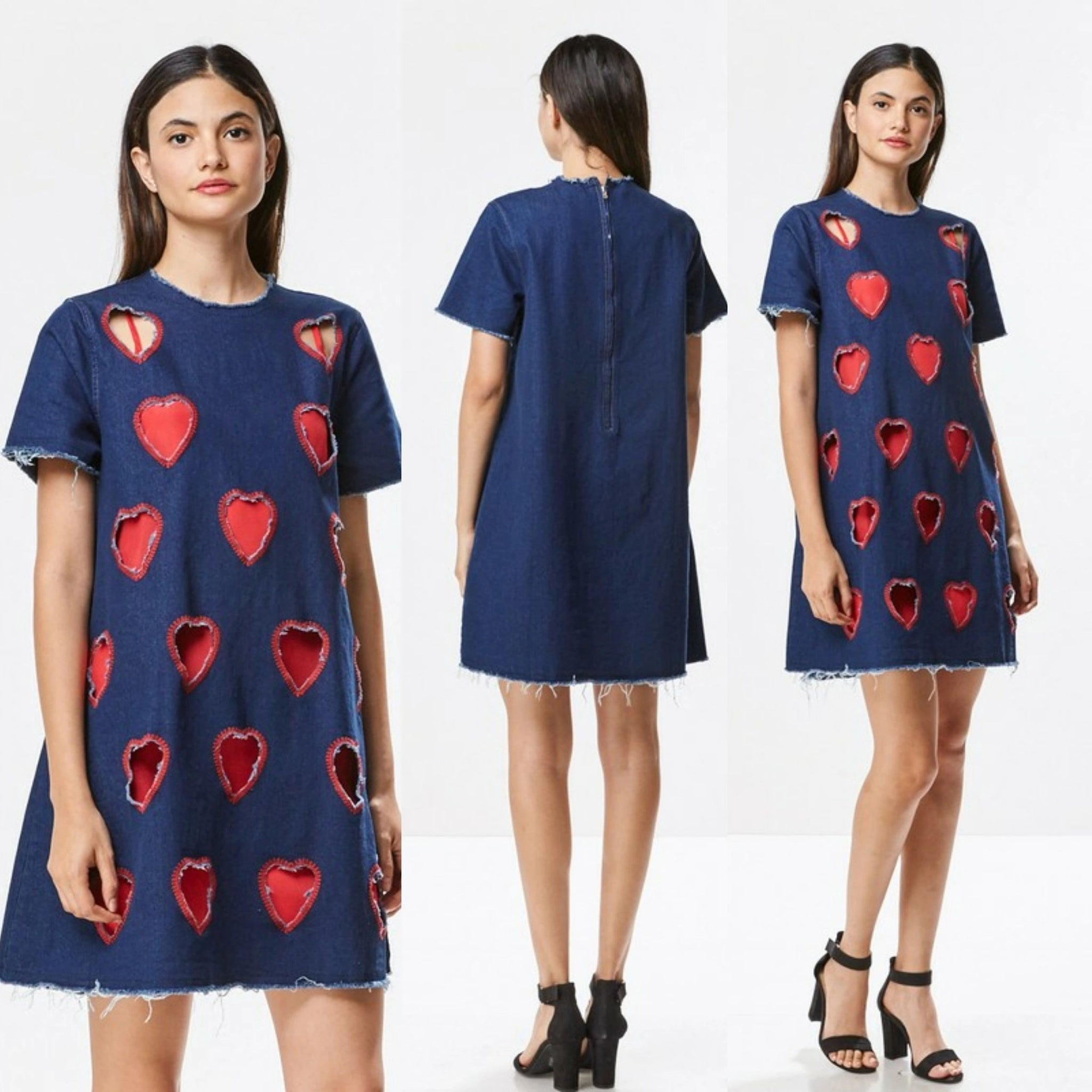 Monet Denim Dress
